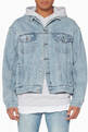thumbnail of Light-Blue Oh G Denim Jacket #0