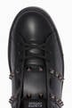 thumbnail of Valentino Garavani Black Rockstud Untitled Sneakers  #3