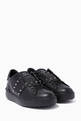thumbnail of Valentino Garavani Black Rockstud Untitled Sneakers  #0