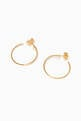 thumbnail of Gold Lara Hoop Earrings   #2