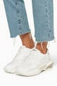 thumbnail of Valentino Garavani White Bounce Chunky-Sole Sneakers  #1