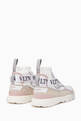 thumbnail of White Heroes Logo Strap Sneakers  #2