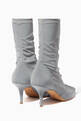 thumbnail of Light-Grey Reflective Booties #2