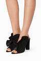 thumbnail of Black Suede Haile Mules #1