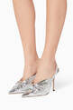 thumbnail of Silver Annabell Slingback Pumps #1