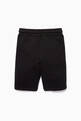 thumbnail of Black Logo Side Panel Shorts   #2