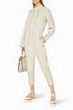 thumbnail of Beige Alma All-In-One Jumpsuit #1