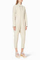 thumbnail of Beige Alma All-In-One Jumpsuit #0