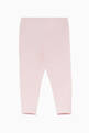 thumbnail of Light-Pink Cotton Leggings #1