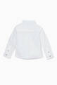 thumbnail of White Embroidered-Logo Shirt  #2