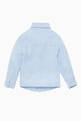 thumbnail of Light-Blue Linen Long-Sleeve Shirt #2