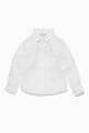 thumbnail of White Linen Long-Sleeve Shirt   #0