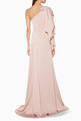 thumbnail of Light-Pink Crystal Embellished One-Shoulder Gown      #2