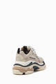 thumbnail of Beige & Pink Triple S Lace-Up Sneakers  #2