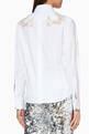 thumbnail of White Floral Appliqué Shirt  #2