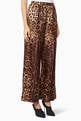 thumbnail of Brown Leopard-Print Pyjama Pants      #0