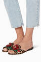 thumbnail of Multi-Coloured Leopard-Print Bianca Sandals #1