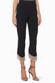 thumbnail of Black Beaded-Fringe Ashley Pants     #0