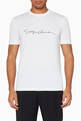 thumbnail of Embroidered Logo Script T-Shirt #0