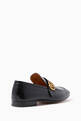 thumbnail of Black Donnie GG Leather Loafers      #2