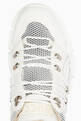 thumbnail of White Leather Flashtrek Sneakers  #3