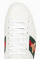 thumbnail of White Ace Embroidered Sneakers  #3
