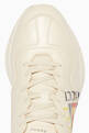 thumbnail of White Logo Rhyton Sneakers  #3