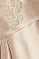 thumbnail of Beige Embellished Sleeveless Gown #3