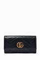 thumbnail of Black GG Marmont Continental Wallet  #0