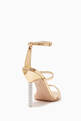 thumbnail of Gold Rosalind Crystal Sandals  #2