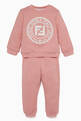 thumbnail of Baby Pink Logo Track Pants   #1