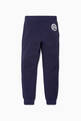 thumbnail of Navy Rubberised Logo Lounge Pants   #2