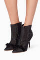 thumbnail of Black Claudia Luwolt Velvet Booties    #1