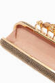 thumbnail of Black & Gold Embellished Box Clutch #3