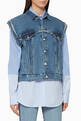thumbnail of Denim Gilet #0