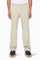 thumbnail of Beige Chino Cotton-Twill Pants    #0