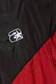 thumbnail of Black, Red & White Tonal Crest Windbreaker Pants  #3