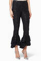 thumbnail of Black Embellished Nina Pants #0