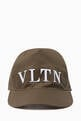 thumbnail of Green VLTN Logo Baseball Cap  #0