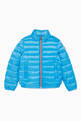 thumbnail of Electric Blue Down Padded Jacket    #0