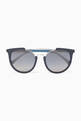 thumbnail of Cut-Out Detail Sunglasses   #0