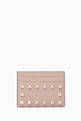 thumbnail of Rockstud Classic Leather Card Holder #0