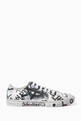 thumbnail of Graffiti Print Canvas Low-Top Sneakers  #0