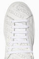 thumbnail of Perforated Logo Low-Top Sneakers  #3