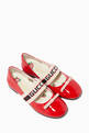 thumbnail of Ballet Flats with Gucci Stripe in Patent Leather    #0