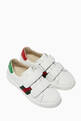 thumbnail of White Ace Leather Sneakers    #3