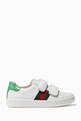 thumbnail of White Ace Leather Sneakers    #1