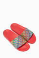 thumbnail of GG Canvas & Star Slide Sandals    #1