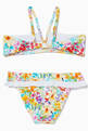 thumbnail of Floral Two-Piece Swimsuit  #1