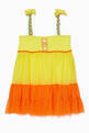 thumbnail of Yellow Embroidered Beach Dress #0